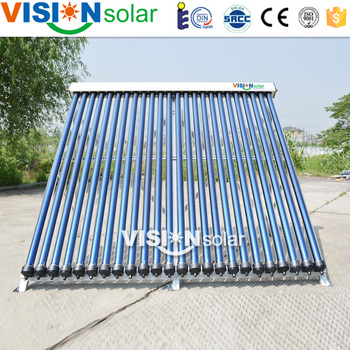 Efficient Heat Pipe Solar Tube Collector Price