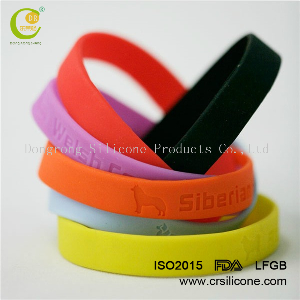 Fashionable design silicone with stainless steel bracelet clasp,factory directly sale customized Europe Silicone bracelets