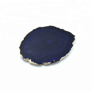 Factory Supply Polished agate slices wholesale for drink