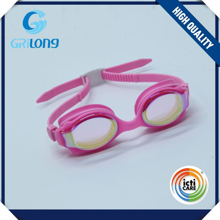 High end OEM quality durable comfortable children goggles swimming