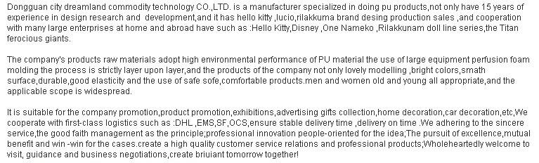 China Dongguan Factory Custom Pu Squishy Kawaii Slow Rising ...