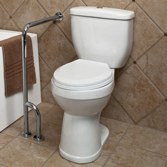 Rb 3039c non slip handicap toilet shower bathroom grab - Handicap bars for bathroom toilet ...