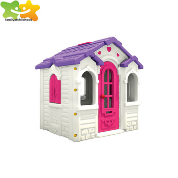 Hot Kids Plastic Toy House Play Equipment For