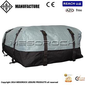 Car Van Suv Roof Top Cargo Rack Carrier Soft Sided Waterproof Luggage Travel Bag