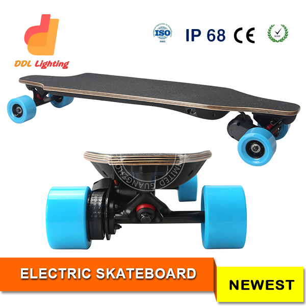 Multi Function Off Road Electric Skateboard with Slow Riding Cruising and High Speed Function