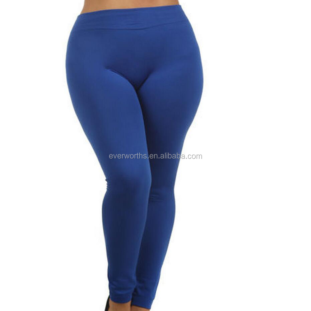 Seamless Fleece Lined Leggings for Women Warm Winter Stretch Tights Legging