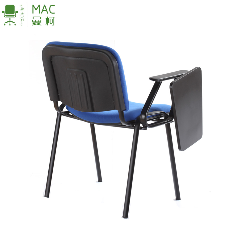 Simple Design School Student Training Chair with Writing Pad Board