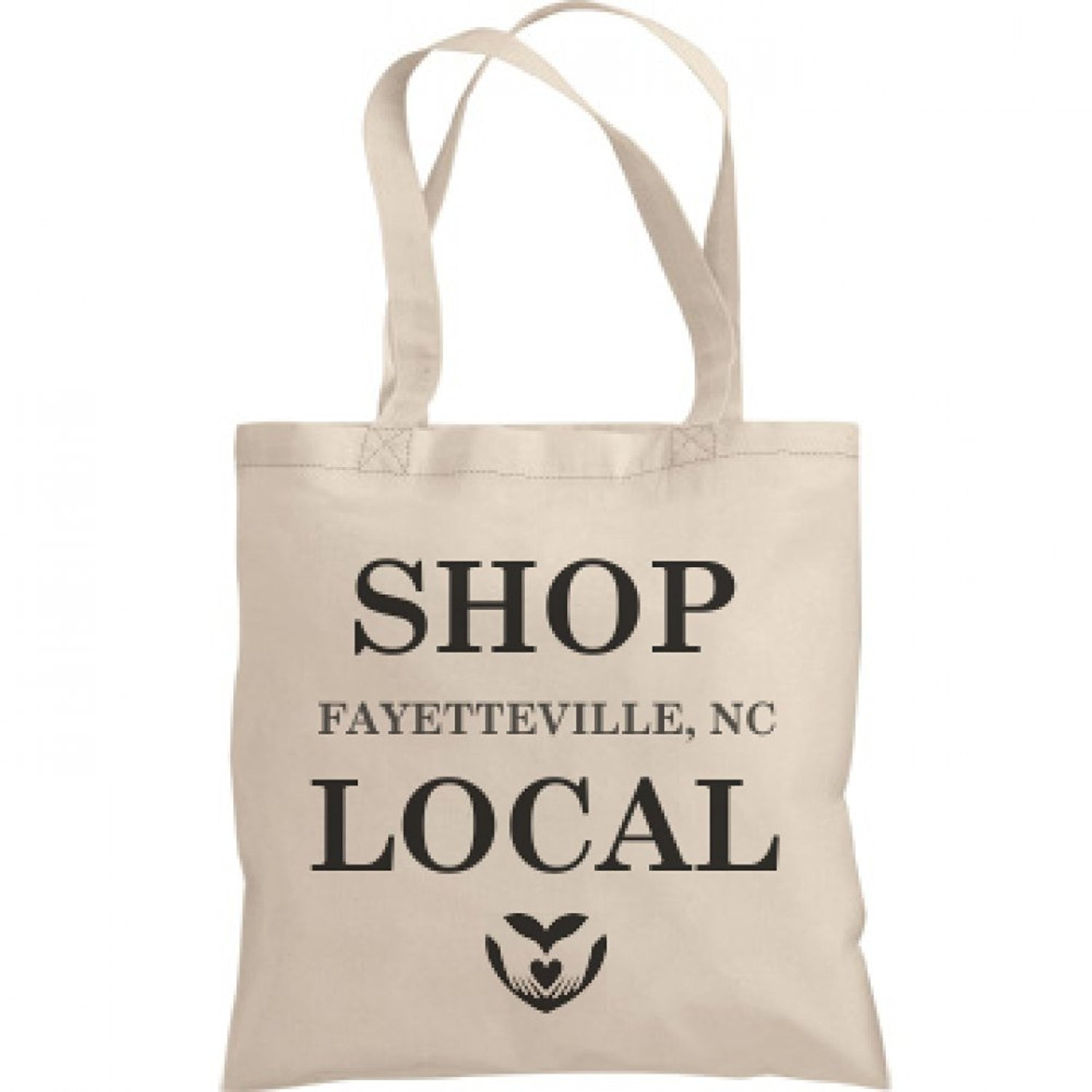 Shop Local Fayetteville, NC: Liberty Bags Canvas Bargain Tote Bag