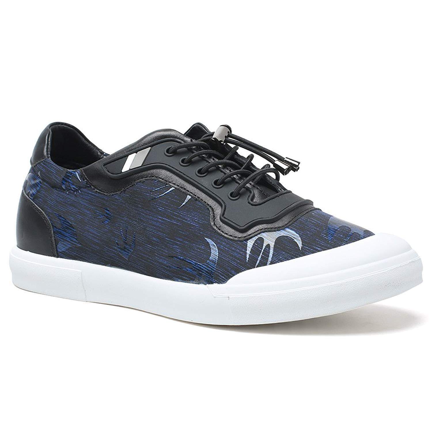 fe432a5df28611 Get Quotations · CHAMARIPA Men s Height Increasing Elevator Sneakers Shoes  2.36 inches Taller for Walking AH81C80D051D