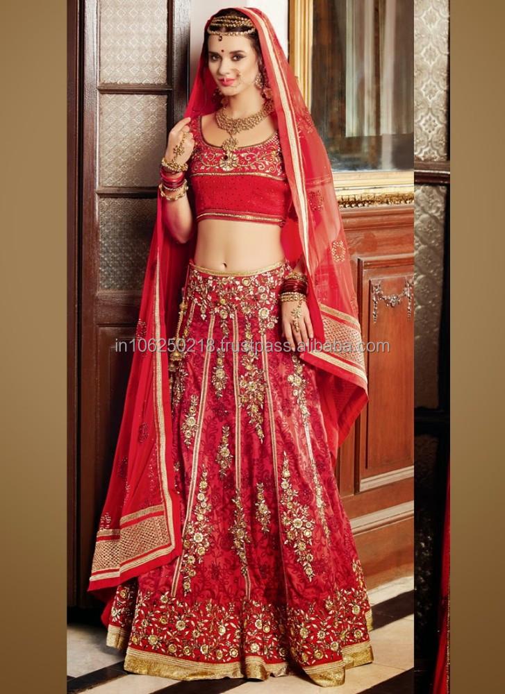 Bridal Wedding Lehenga Wedding Reception Lehenga Saree R5608 Buy