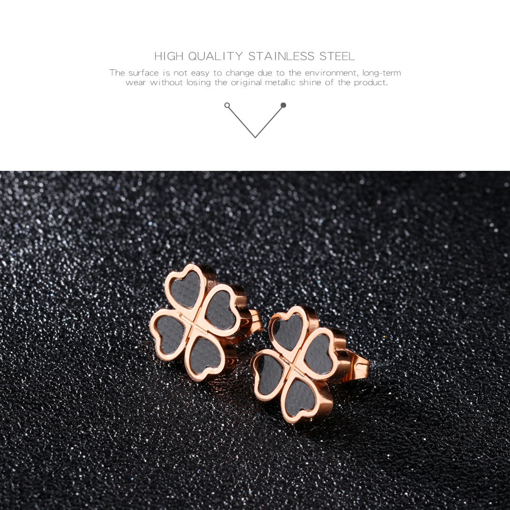 Wholesale Jewelry Heart Design Stainless Steel 316L Stud Earring