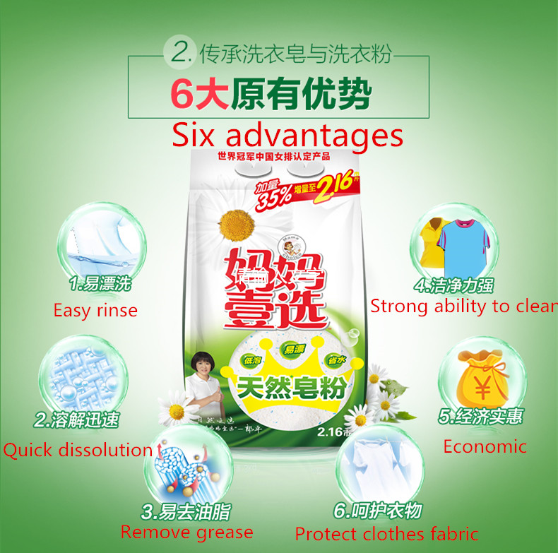 Factory price bulk laundry detergent powder washing laundry detergent