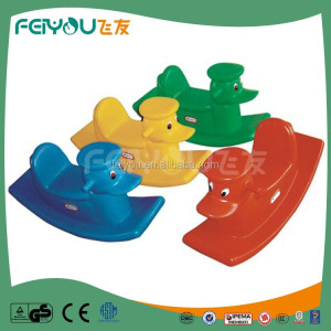 Feiyou Newest Design hot sale Donald Duck series outdoor playground equipment spring rider