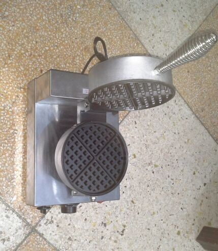 Excellent quality screw-type handle single head waffle maker HJ-MN017