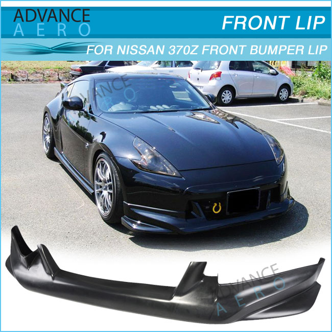 Front Bumper Lip Nis Style Poly Urethane Body Kits For 09 10 11 12