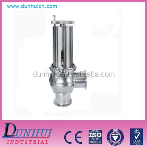 YAP type Sanitary Commonly Safety Valve for food grade