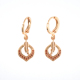 women gift The panicle of life copper wholesale price Brazil ear of wheat earring