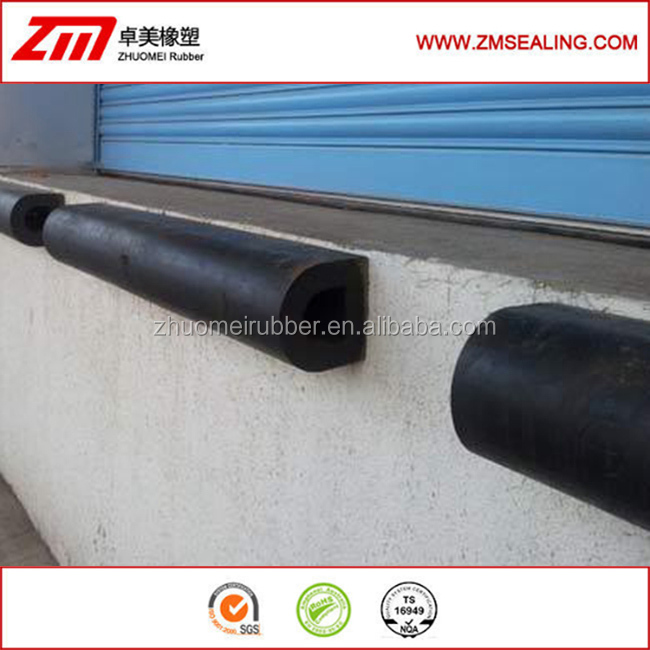 wall protection rubber block bumper