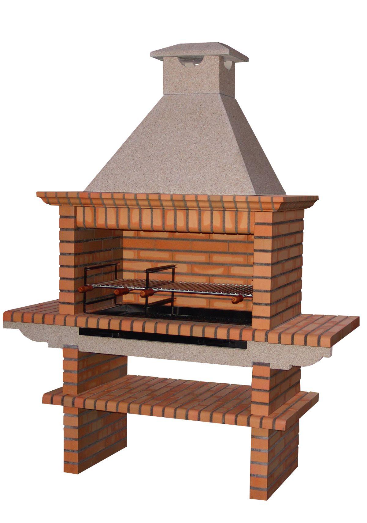 kit barbecue fixe en brique av1900f fours id du produit 600001080002. Black Bedroom Furniture Sets. Home Design Ideas