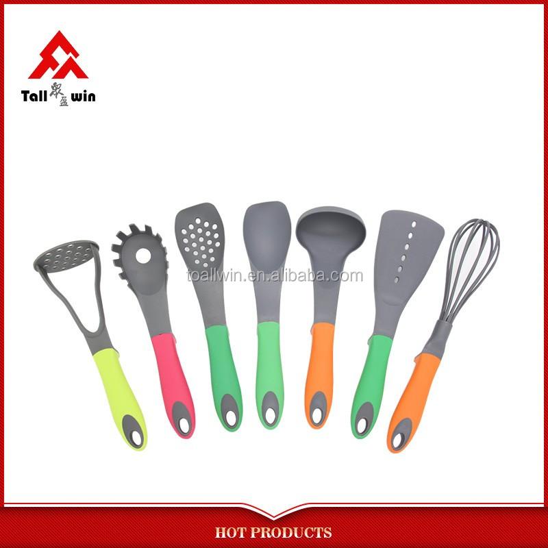 New 6pcs Melamine Plastic Kitchen Utensil