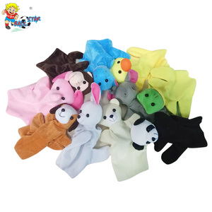 Ballstartoy Factory cute animal fashional custom plush hand puppets for kids