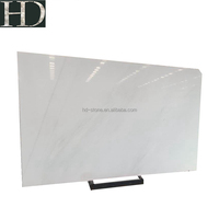 Chinese Pure White Sichuan Crystal White Marble Polished Big Slab for Wall