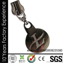 CR_ZP7503_zipper puller NO MOQ fashion metal zipper puller with logo