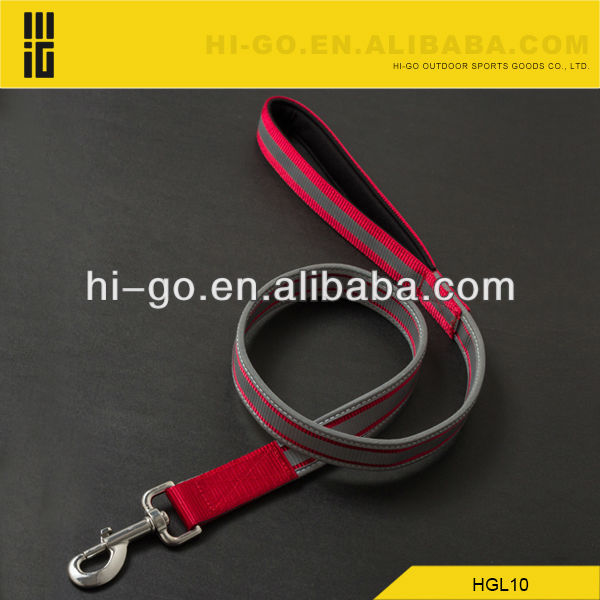 Dog collar and leash with reflective tape of both side
