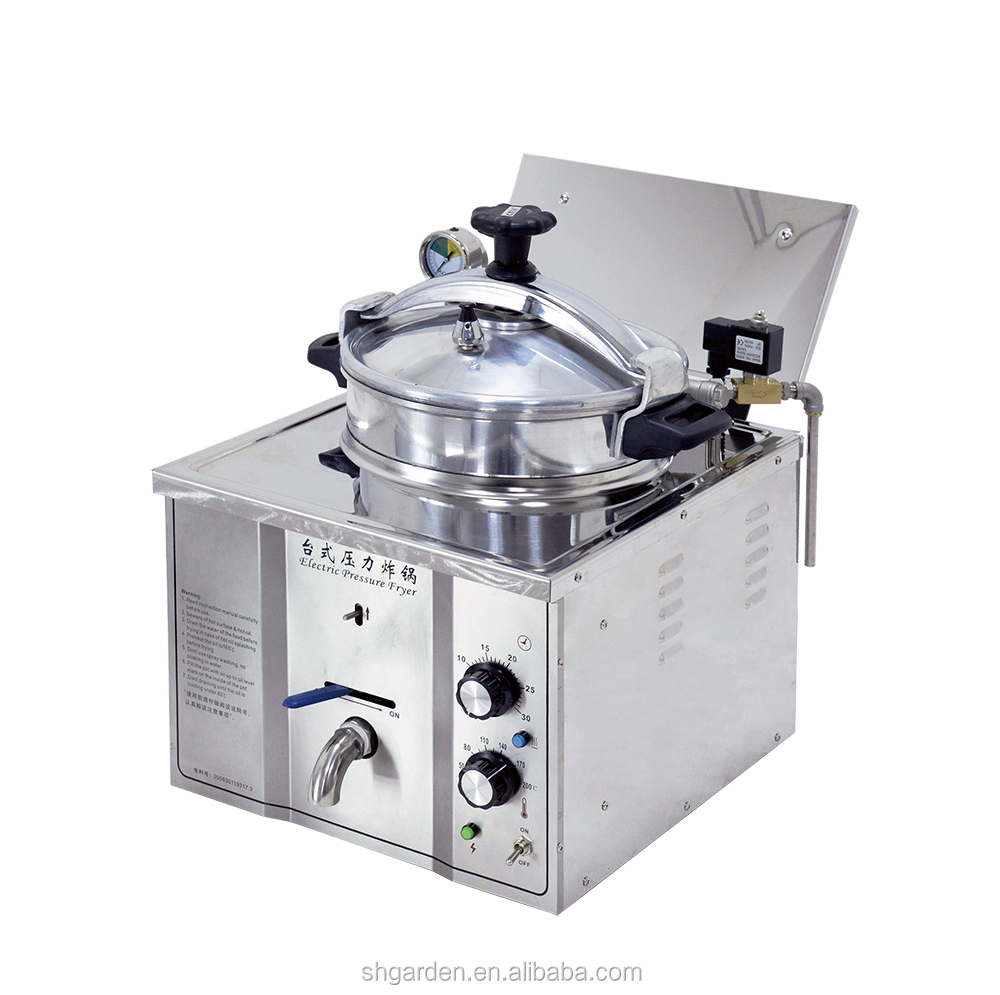 CE commercial chicken kfc commercial chicken deep fryer machine