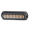 "5.5""Inch 18W LED Strobe Warning Light For Police Cars Trailer Forklifts Cranes Towing Security Construction Mining"