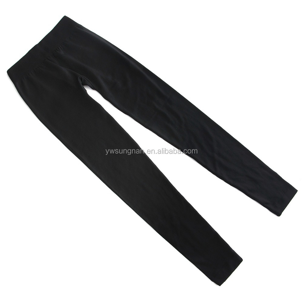 Pure color can custom seamless leggings unisex long pants gym fitness leggings