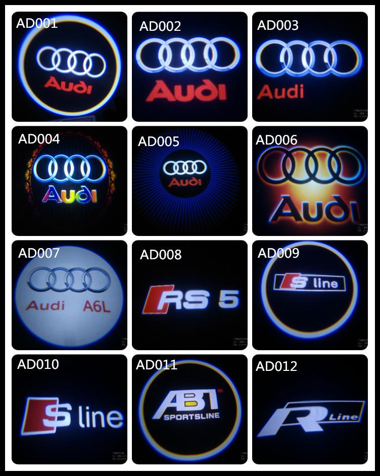 Ricambi Auto accessori led logo del portello di automobile ombra proiettore di luce