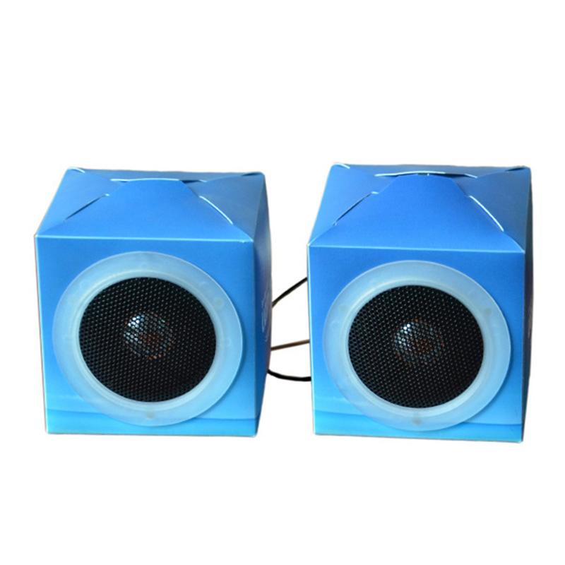 Custom Design/Printing Folding Cardboard Speaker <strong>Mini</strong> For Home and Car