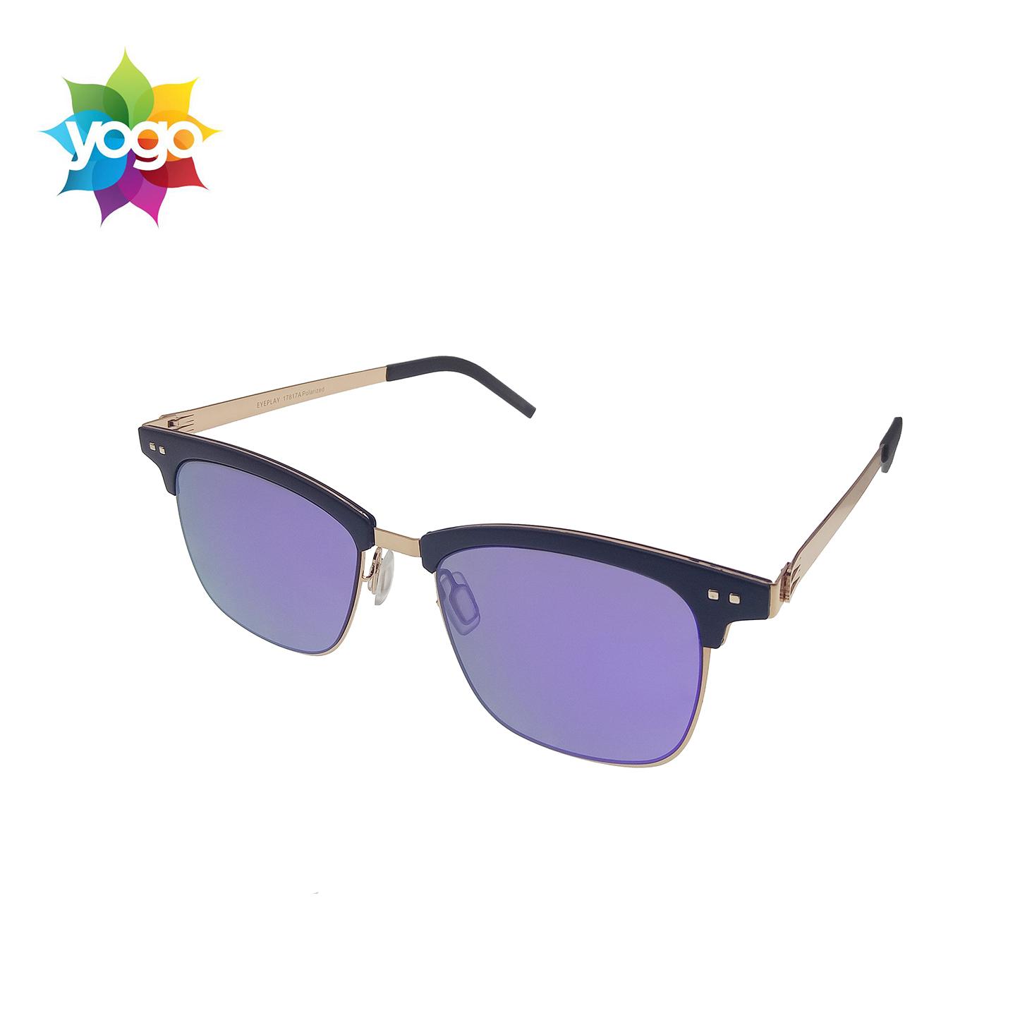 3614a961f80 The fashionable xiamen purple sunglasses 2019 women small semi rimless  sunglasses