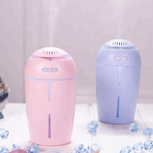Colorful LED Night Light Color Changing USB Cup Aroma Humidifier