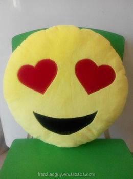 Smiley Trái Tim Mắt Fun Mặt Biểu Tượng Cảm Xúc Gối - Buy Biểu Tượng Cảm Xúc  Gối,Mặt Cushion Gối,Vui Vẻ Hình Gối