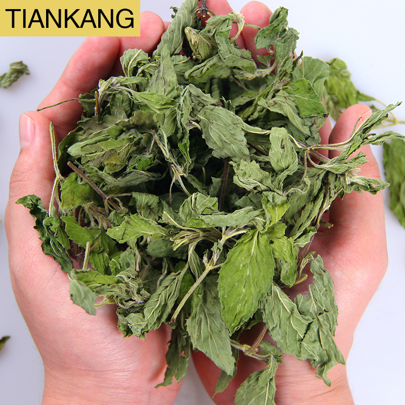 Grosir Rempah-rempah Kering Herbal Peppermint Kering Mint Daun Potong Herbal