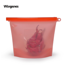 Wingenes <span class=keywords><strong>Réutilisable</strong></span> en Gros <span class=keywords><strong>de</strong></span> Stockage <span class=keywords><strong>de</strong></span> Nourriture <span class=keywords><strong>de</strong></span> <span class=keywords><strong>Silicone</strong></span> <span class=keywords><strong>De</strong></span> <span class=keywords><strong>Sac</strong></span> Frais