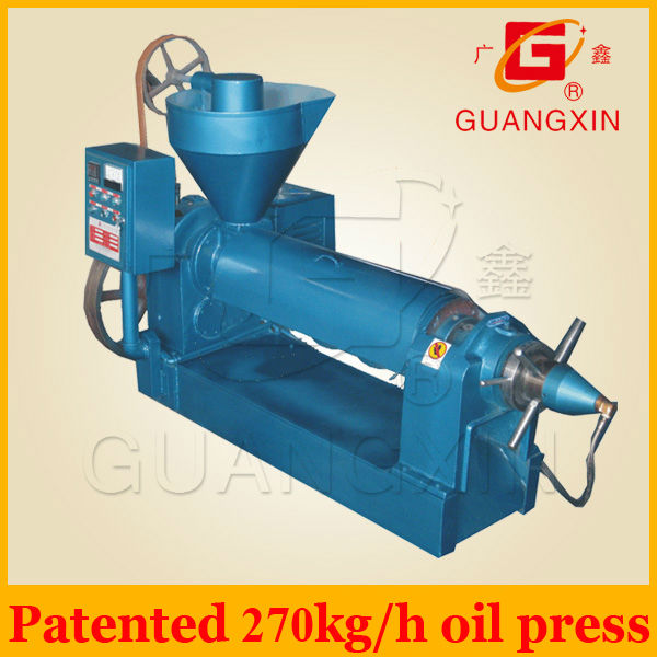 2012 New High quality low price screw coconut oil mill