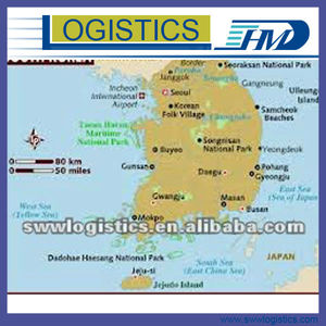 Air freight forwarder door to door delivery service from shanghai shenzhen guangzhou to Seoul Korea