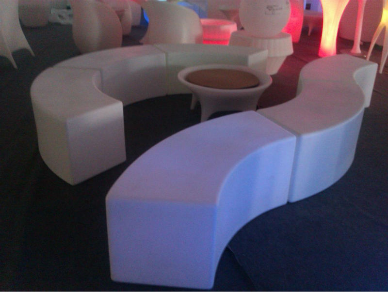 Good quality Multicolored light LED bright design furniture for saloon,bar,pub with Wireless or WiFi Control