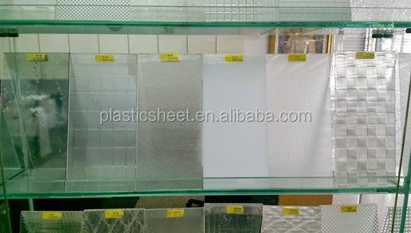 Patterned Polystyrene Plexiglass Plastic Sheet For Shower