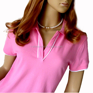wholesale women custom golf bangladesh polo shirt 100% cotton