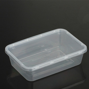 Plastic Bento Box Microwavable Food Containers With Lids
