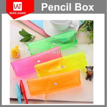 High quality manufacturer eco friendly clear wholesale plastic pencil box