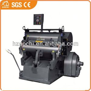 auto die-cutting machine for Paper and plastic sheet with CE