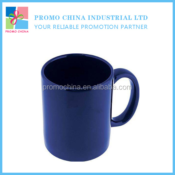 Blank Dark Blue Glazed Ceramic Stoneware Mug Cheap Custom Stoneware Mug