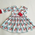 Wholesale children's boutique clothing little girl christmas dress plus size chaniya choli