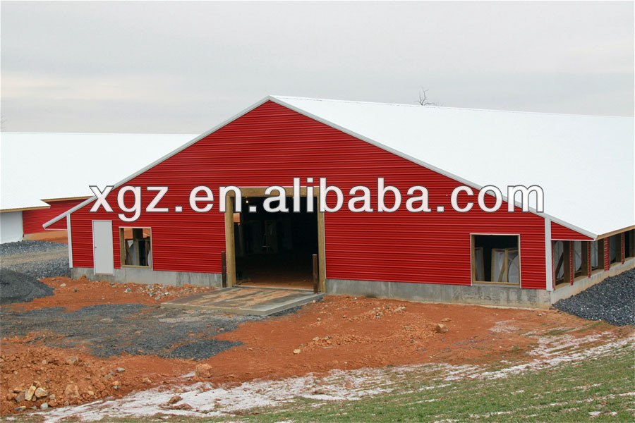 Design Prefab Chicken Farm Building