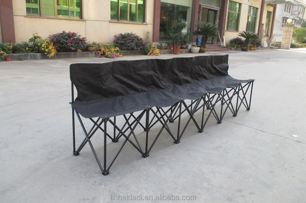 Stupendous 6 Seats Folding Bench Beach Chair With Back Rest Buy 6 Seats Folding Chair 600D Polyester 6 Seats Folding Bench 6 Seats Folded Chair Product On Dailytribune Chair Design For Home Dailytribuneorg